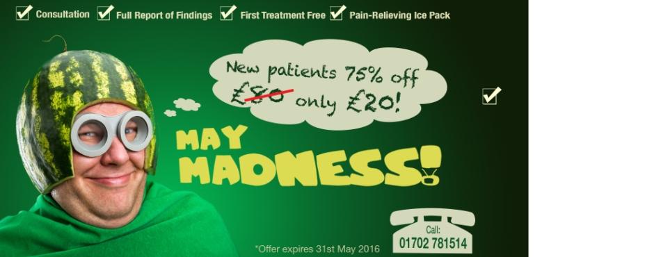 chiropractic deals Rayleigh Essex