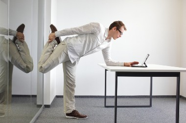 keep active in the workplace