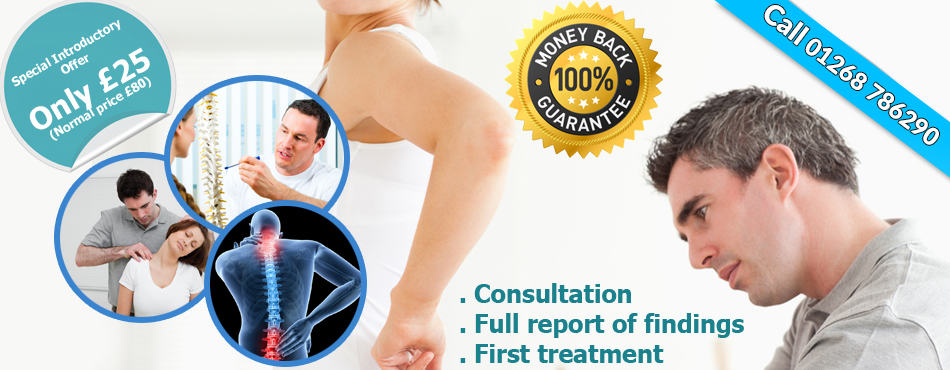 chiropractor in Rayleigh, Essex. Special Offer